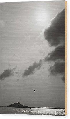 Light Of The Sky Wood Print by Konstantin Dikovsky