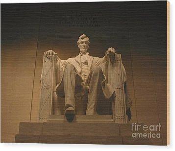 Lincoln Memorial Wood Print by Brian McDunn