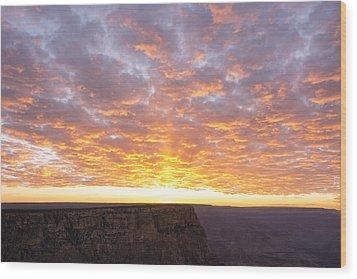 Lipon Point Sunset 3 - Grand Canyon National Park - Arizona Wood Print by Brian Harig