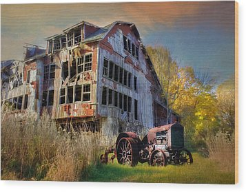 Long Forgotten Wood Print by Lori Deiter