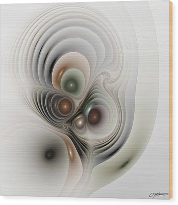 Medulla Wood Print by Casey Kotas