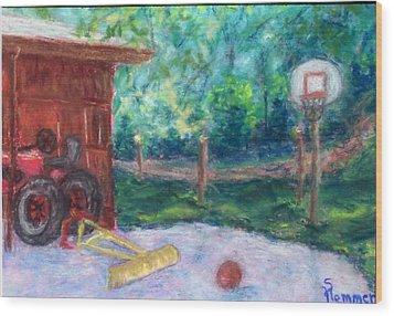 Memories 3 Wood Print by Sandy Hemmer
