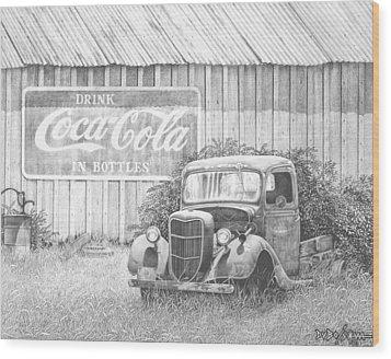 Memories Wood Print by Howard Dubois