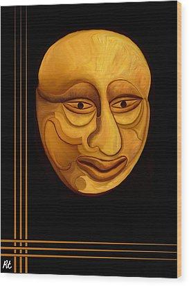 Midas Wood Print by Rafi Talby