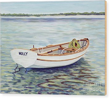 Molly Wood Print by Danielle  Perry