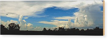 Monuments In The Sky Wood Print by James Granberry