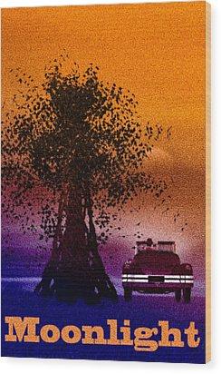 Moonlight Wood Print by Bob Orsillo