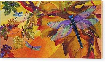 Morning Dawn Wood Print by Karen Dukes
