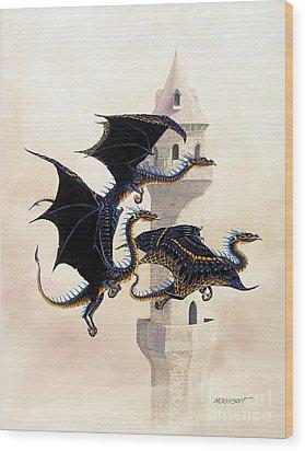 Morning Flight Wood Print by Stanley Morrison