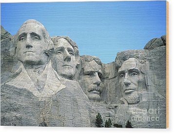 Mount Rushmore Wood Print by American School