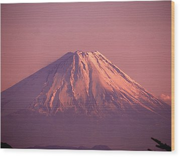 Mt. Fuji, Yamanashi,japan Wood Print by Juno808