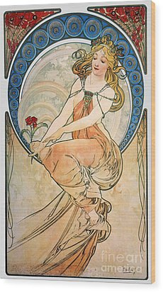 Mucha: Poster, 1898 Wood Print by Granger
