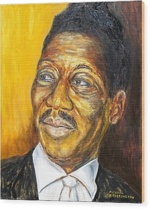 Muddy Waters Wood Print by Michael Titherington