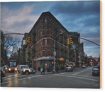 New York City - Greenwich Village 011 Wood Print by Lance Vaughn