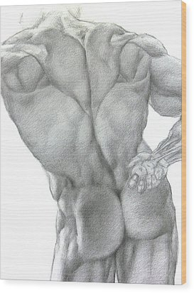 Nude 2a Wood Print by Valeriy Mavlo