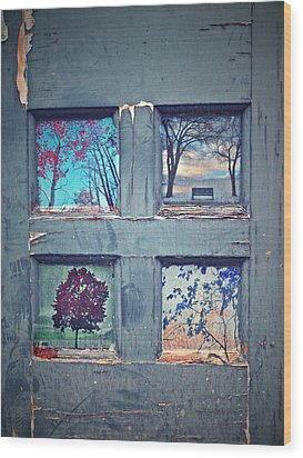 Old Doorways Wood Print by Tara Turner