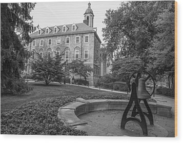 Old Main Penn State University  Wood Print by John McGraw