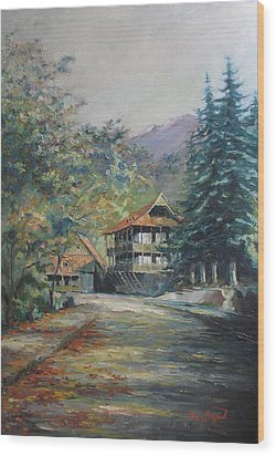 Old Town Dilijan Wood Print by Tigran Ghulyan