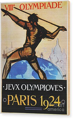 Olympic Games, 1924 Wood Print by Granger