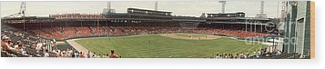 Once Upon A Fenway Wood Print by David Bearden