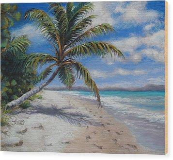 Paradise Found Wood Print by Susan Jenkins