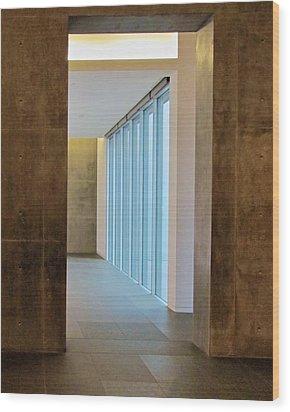 Passage Wood Print by Slade Roberts