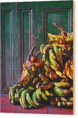 Patacon Wood Print by Skip Hunt