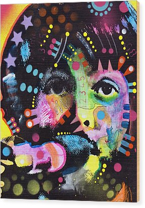 Paul Mccartney Wood Print by Dean Russo