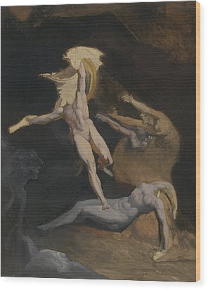 Perseus Slaying The Medusa Wood Print by Henry Fuseli