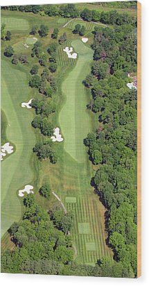 Philadelphia Cricket Club Militia Hill Golf Course 7th Hole Wood Print by Duncan Pearson