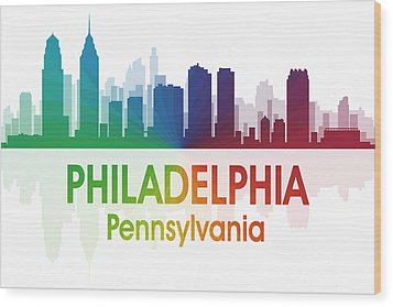 Philadelphia Pa Wood Print by Angelina Vick