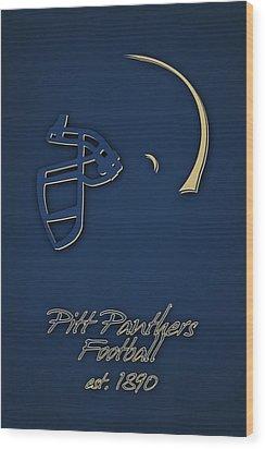 Pitt Panthers Wood Print by Joe Hamilton