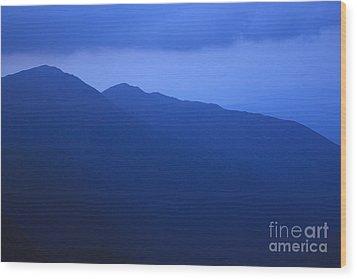 Presidential Range - White Mountains Nh Usa Wood Print by Erin Paul Donovan