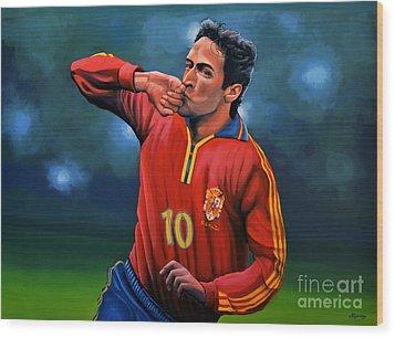 Raul Gonzalez Blanco Wood Print by Paul Meijering