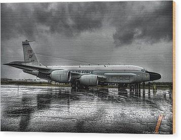 Rc-135vw Wood Print by Ryan Wyckoff