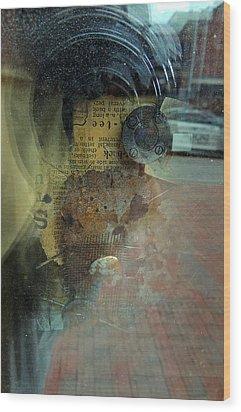 Reflection 1 Wood Print by Marcia L Jones