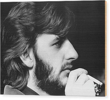 Ringo Starr In 1972 Wood Print by Chris Walter