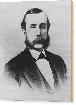Rockefeller Family. Industrialist John Wood Print by Everett