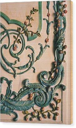 Rococo Wood Print by Georgia Fowler