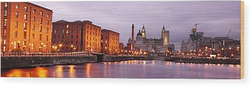 Romantic Liverpool Wood Print by Sydney Alvares