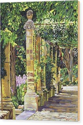 Saint-andre Abbey France Wood Print by David Lloyd Glover