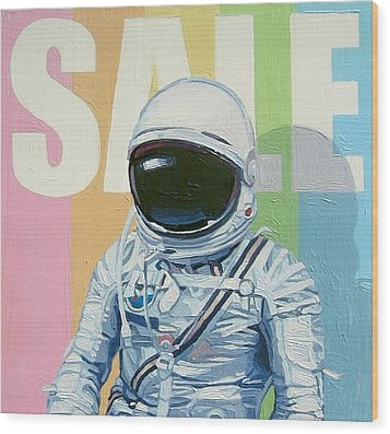 Sale Wood Print by Scott Listfield