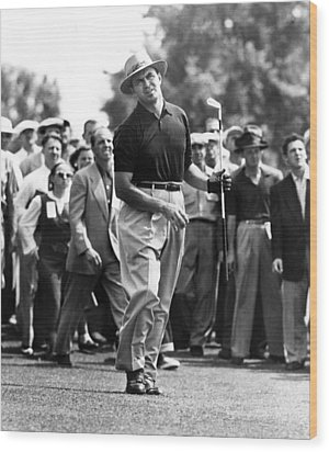 Sam Snead 1912-2002, American Golfer Wood Print by Everett