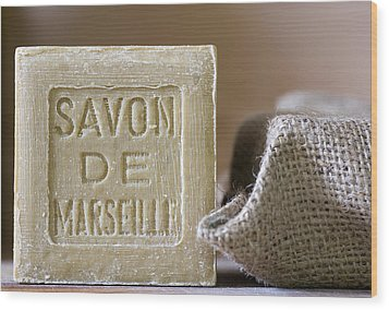 Savon De Marseille Wood Print by Frank Tschakert