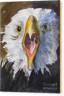 Screaming Eagle 2004 Wood Print by Paul Miller