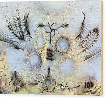 Sensorial Paroxysm Wood Print by Casey Kotas