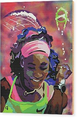 Serena Wood Print by Chelsea VanHook