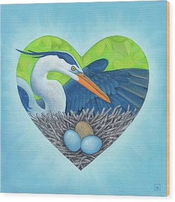 Serena Wood Print by Lisa Kretchman