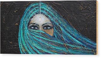 Shambala Wood Print by NARI - Mother Earth Spirit