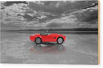 Shelby Cobra 1965 Wood Print by Mark Rogan